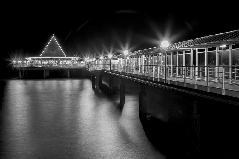 Seebrücke Bansin Meerblick SW